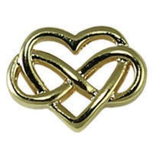 Picture of Gold Eternal Love Charm